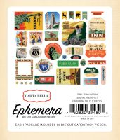 Carta Bella Are We There Yet Ephemera