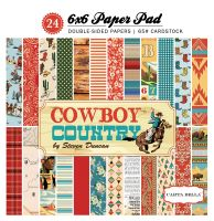 Carta Bella Cowboy Country 6x6 Paper Pad
