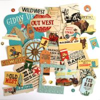 Carta Bella Cowboy Country Ephemera