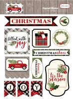 Carta Bella Christmas Delivery Layered Stickers