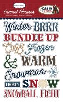Carta Bella Cabin Fever Enamel Words & Phrases