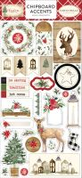 Carta Bella Christmas 6x12 Chipboard Accents