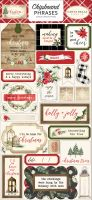 Carta Bella Christmas 6x12 Chipboard Phrases