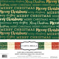 Carta Bella Merry Christmas Foil Collection Kit