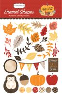 Carta Bella Hello Fall Enamel Shapes