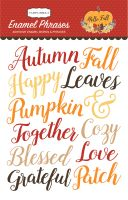 Carta Bella Hello Fall Enamel Words & Phrases