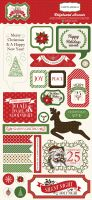 Carta Bella Have a Merry Christmas 6x13 Chipboard