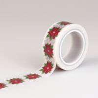 Carta Bella Have a Merry Christmas Decorative Tape - Poinsettia