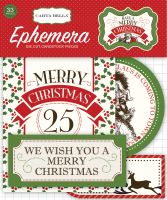 Carta Bella Have a Merry Christmas Ephemera