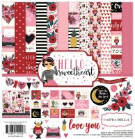Carta Bella Hello Sweetheart 12x12 Collection Kit