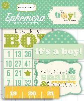 Carta Bella It's a Boy Ephemera