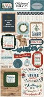 Carta Bella Let It Snow 6x12 Chipboard Phrases