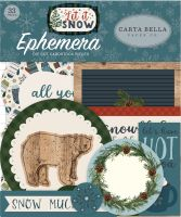 Carta Bella Let It Snow Ephemera