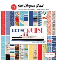 Carta Bella Let's Cruise 6x6 Paper Pad