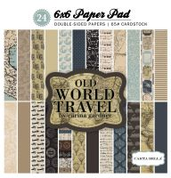 Carta Bella Old World Travel 6x6 Paper Pad