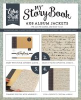Carta Bella Script 6X8 Album Jacket