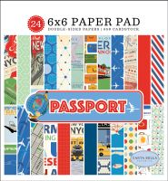 Carta Bella Passport 6x6 Paper Pad