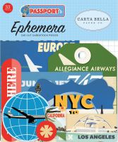 Carta Bella Passport Ephemera