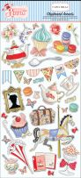 Carta Bella Practically Perfect 6x13 Chipboard Accents