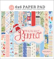 Carta Bella Practically Perfect 6x6 Paper Pad