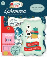 Carta Bella Pack Your Bags Ephemera