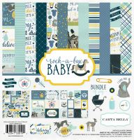Carta Bella Rock-a-Bye Boy Collection Kit