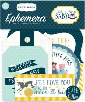 Carta Bella Rock-a-Bye Boy Ephemera