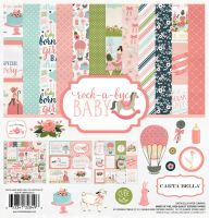 Carta Bella Rock-A-Bye Girl 12x12 Collection Kit