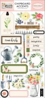 Carta Bella Spring Market 6x13 Chipboard Accents