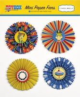 Carta Bella Toy Box Mini Paper Fans