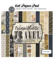 Carta Bella Transatlantic Travel 6x6 Paper Pad