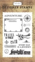 Carta Bella Travel The World Stamp