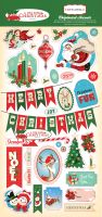 Carta Bella A Very Merry Christmas 6x13 Chipboard