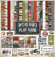 Carta Bella Work Hard Play Hard 12x12 Collection Kit
