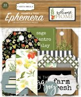 Carta Bella Welcome Home Frames & Tags Ephemera