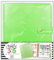 Me & My Big Ideas Create 365 The Happy Planner Deluxe Cover - Spring Green (Classic)