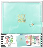 Me & My Big Ideas Create 365 The Happy Planner Deluxe Cover - Mint (Classic)