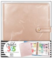 Me & My Big Ideas Create 365 The Happy Planner Deluxe Cover - Rose Gold (Classic)