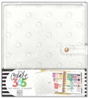 Me & My Big Ideas Create 365 The Happy Planner Deluxe Cover - Snow Dots (Classic)