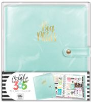 Me & My Big Ideas Create 365 The Happy Planner Deluxe Cover Big Plans Mint (Classic)
