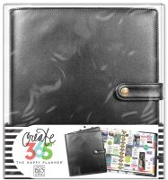 Me & My Big Ideas Create 365 The Happy Planner Deluxe Cover - Black (Big)