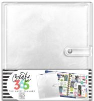 Me & My Big Ideas Create 365 The Happy Planner Deluxe Cover - Silver (Big)