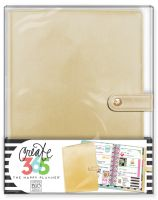 Me & My Big Ideas Create 365 The Happy Planner Deluxe Cover - Gold (Mini)