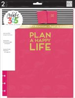 Me & My Big Ideas Create 365 The Happy Planner Snap in Hard Cover Pink Plan a happy Life (Big)