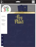 Me & My Big Ideas Create 365 The Happy Planner Snap in Hard Cover Navy Big (Big)