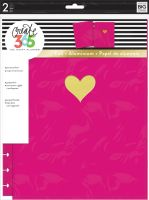 Me & My Big Ideas Create 365 The Happy Planner Snap in Hard Cover Pink Gold (Big)