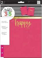 Me & My Big Ideas Create 365 The Happy Planner Snap in Hard Cover Happy (Classic)