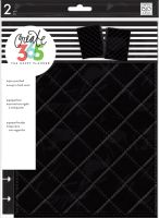 Me & My Big Ideas Create 365 The Happy Planner Snap in Hard Cover Quilted Night (Classic)