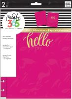 Me & My Big Ideas Create 365 The Happy Planner Snap in Hard Cover Pink Heart (Classic)