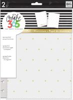 Me & My Big Ideas Create 365 The Happy Planner Snap in Hard Cover White (Classic)